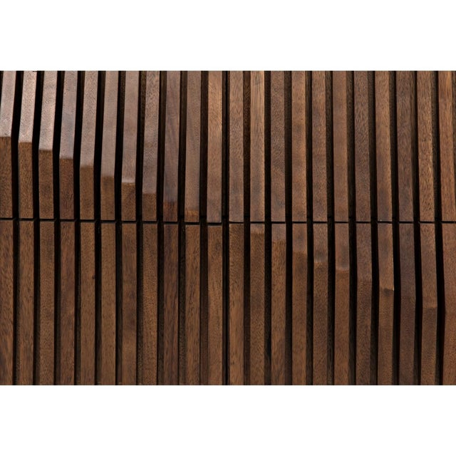 Wood Jin-Ho Dark Walnut Sideboard For Sale - Image 7 of 9