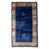 Image of 1920s Handmade Antique Art Deco Chinese Rug 4' X 6.7 For Sale