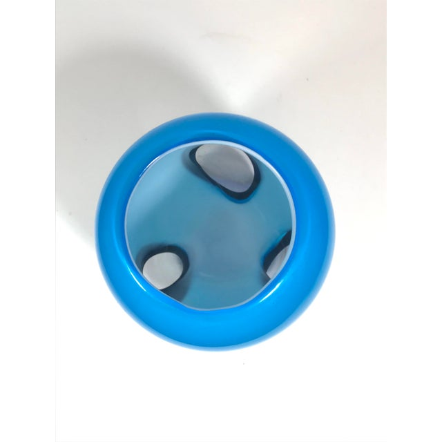 2010s Murano Art Glass Vase For Sale - Image 5 of 8