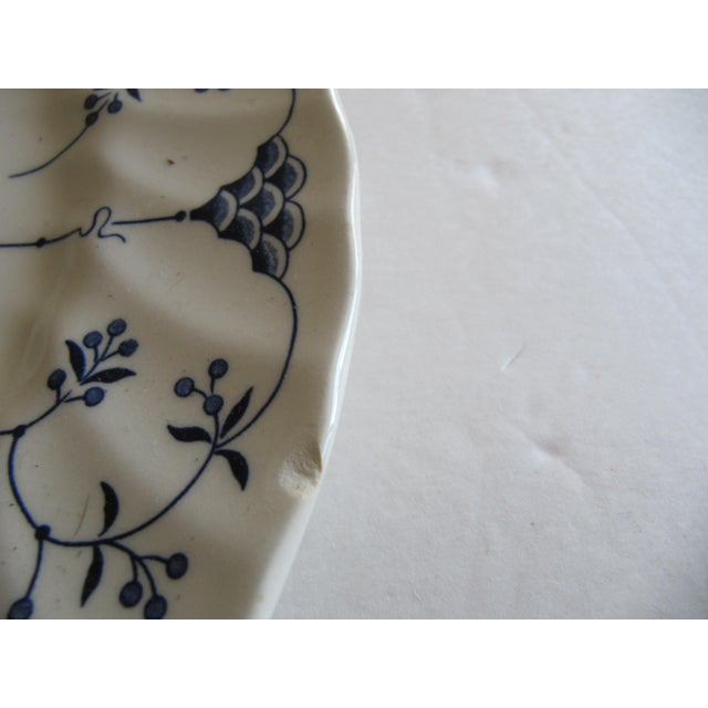 Early 21st Century Blue & White Transfer-Ware Plates- 8 Pieces For Sale - Image 5 of 6