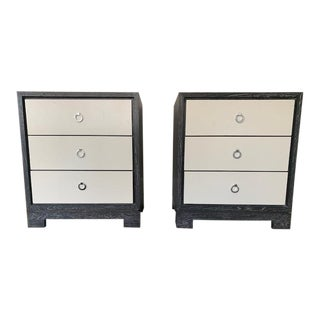 Mid-Century Modern Bungalow 5 Berkeley 3-Drawer Nightstands - a Pair For Sale