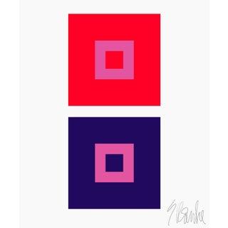 """Dynamic Color Change No. 1 Fine Art Print 45"""" X 55"""" by Liz Roache For Sale"""