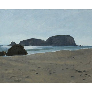 Whaleshead Beach, OR: Original Oil Painting Plein Air Landscape For Sale