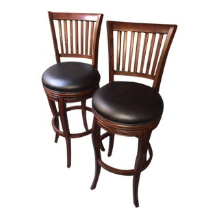 Fairfield Swivel Bar Stools- Set of 2