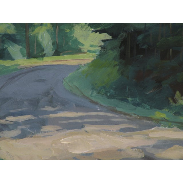A beautiful summer day. Painted in central Vermont on site beside an iconic Vermont gravel road. The colors were lush and...
