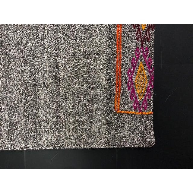 Vintage Turkish Handwoven Aztec Corridor Kilim Rug - 2′3″ × 7′3″ For Sale - Image 10 of 11