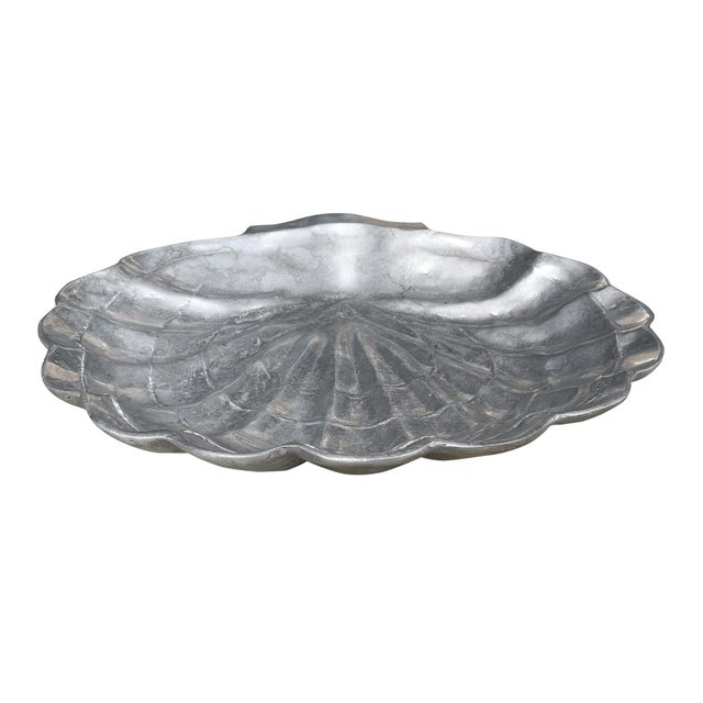 Modern Large Clam Shell Bowl For Sale - Image 3 of 10