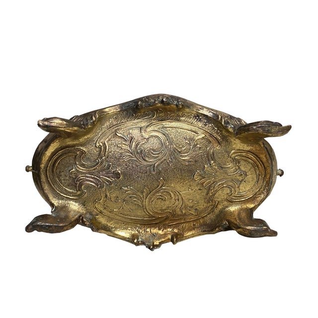 Rococo French Brass Rococo Jardiniere For Sale - Image 3 of 5