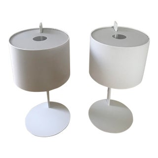 Bludot Note Table Lamps - a Pair For Sale