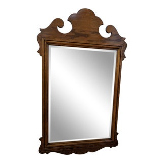 Ethan Allen Chippendale Wall / Mantle Mirror For Sale