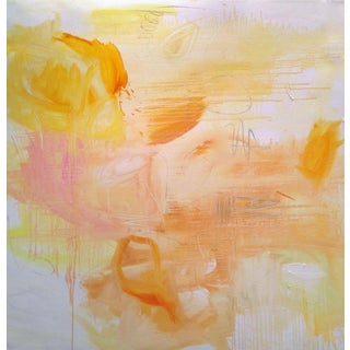 """""""Monument Valley"""" by Trixie Pitts Large Abstract Expressionist Oil Painting For Sale"""