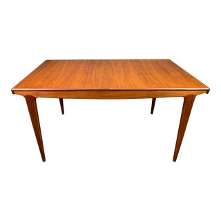 Vintage British Mid Century Modern Teak Dining Table by John Herbert for A. Younger Ltd. For Sale
