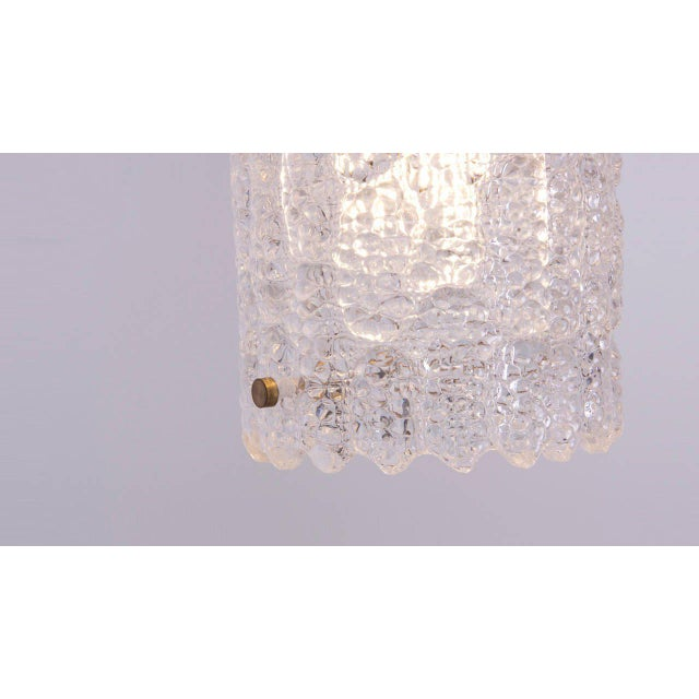 Glass Pendant Light by Carl Fagerlund for Orrefors For Sale - Image 6 of 9