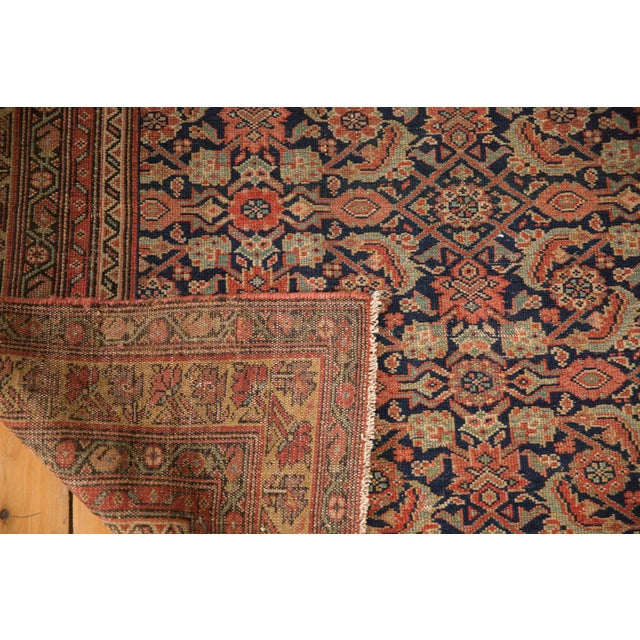 "Antique Mission Malayer Rug - 3'8"" X 5'11"" For Sale - Image 10 of 12"