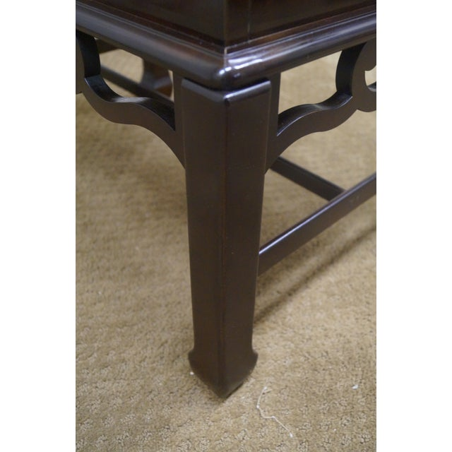 Asian Style Chest on Frame End Table - Image 10 of 10