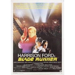 Blade Runner 1982 Italian Due Fogli Film Poster For Sale