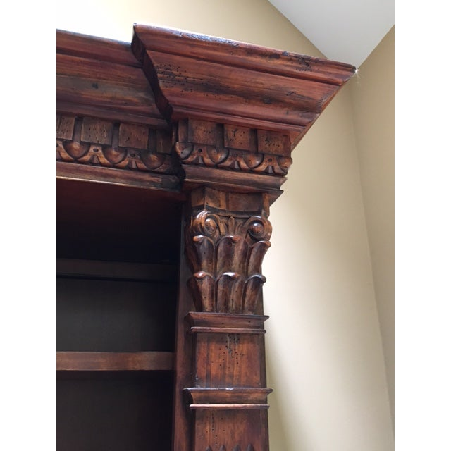 Lighted Library Wall Unit For Sale - Image 5 of 8