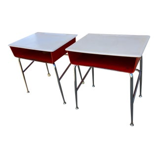 Heywood-Wakefield School Desk - a Pair For Sale