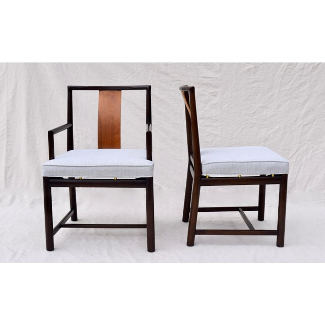 1960s Vintage John Stuart Dining Chairs- Set of 14 For Sale - Image 9 of 13