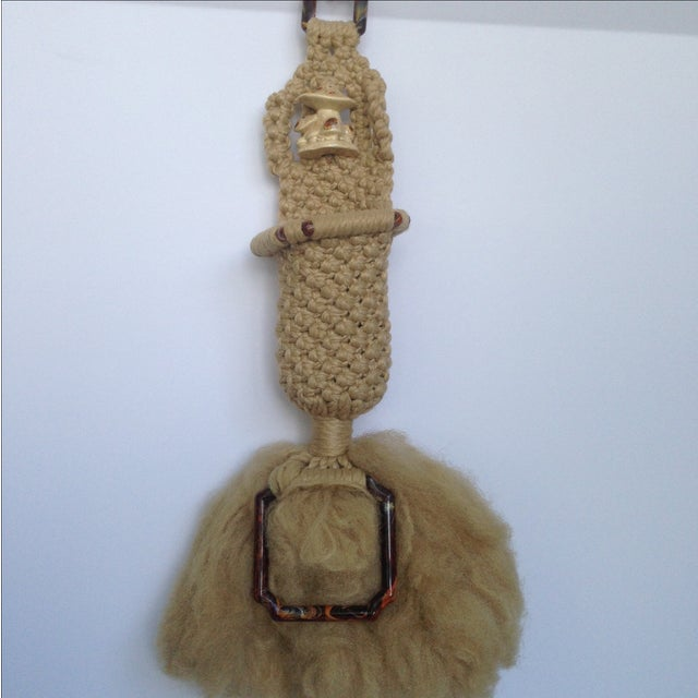 Vintage Macrame Wall Hanging - Image 3 of 7