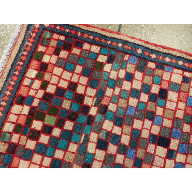 """Vintage Persian Mahal Rug – Size: 2' 5"""" X 4'10"""" For Sale In New York - Image 6 of 11"""