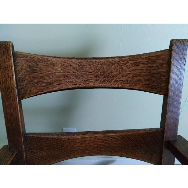 Limbert Limbert #8074 Rocking Chair For Sale In Seattle - Image 6 of 9
