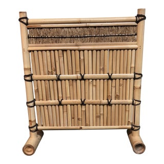 Bamboo Screen Accent Decor