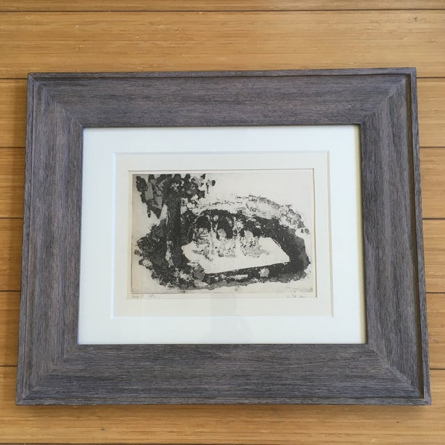 Shirley R Taylor Abstract Etching - Image 6 of 11