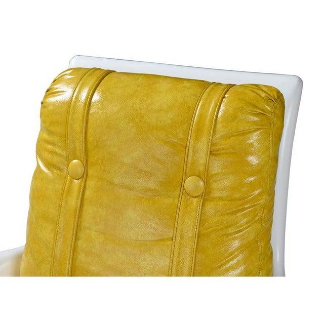 Futorian Decorian Molded Plastic Lemon Candy Shell Italian Modern Lounge Chairs For Sale - Image 10 of 13