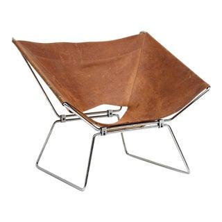 Pierre paulin original leather annau chair