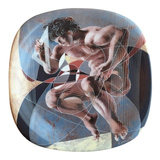 Hans Erni Decorative Porcelain Plate