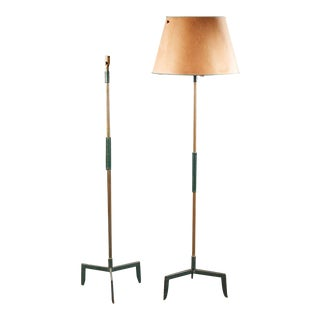 Jacques Adnet (1900-1984) - Circa 1950, Lamppost. For Sale