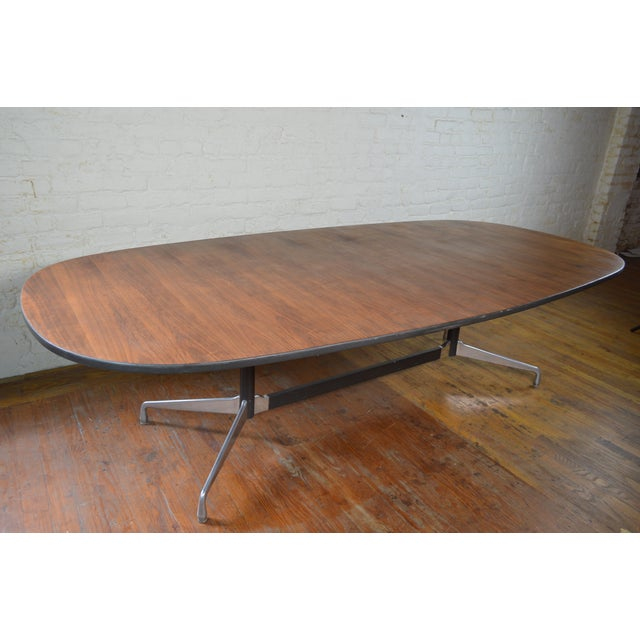 Charles & Ray Eames for Herman Miller Aluminum Group Mid Century Modern Conference Table For Sale - Image 9 of 9
