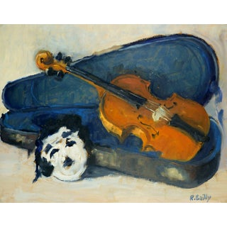 Raymond Bailly, Violin in Case For Sale
