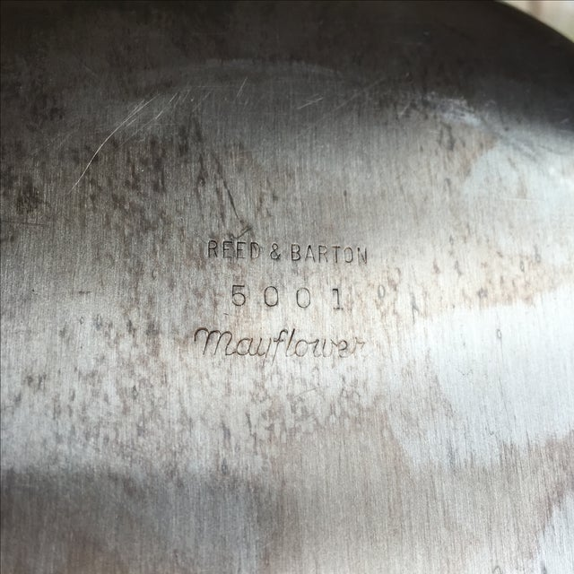 Reed & Barton Reed & Barton Silver Plate Covered Vegetable Dish For Sale - Image 4 of 6