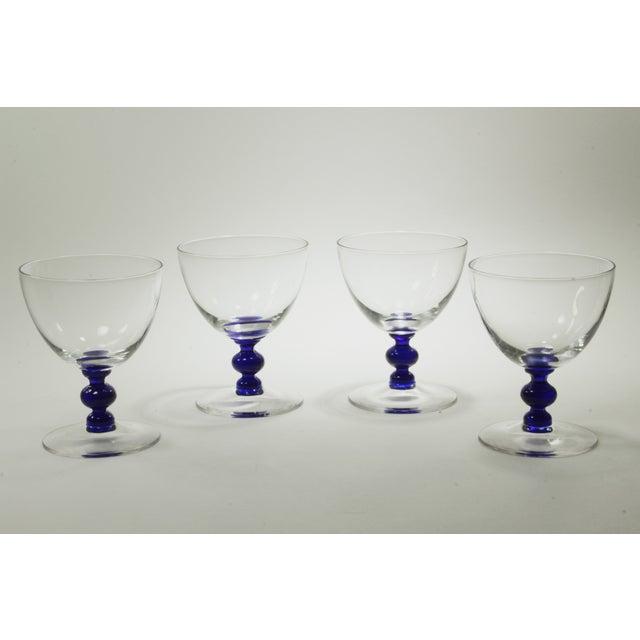 Vintage Art Deco Crystal Aperitif Stemware - Set/8 - Image 4 of 6