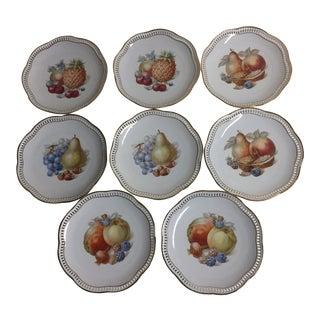 Schumann Arzberg Germany Desert Plates - Set of 8 For Sale
