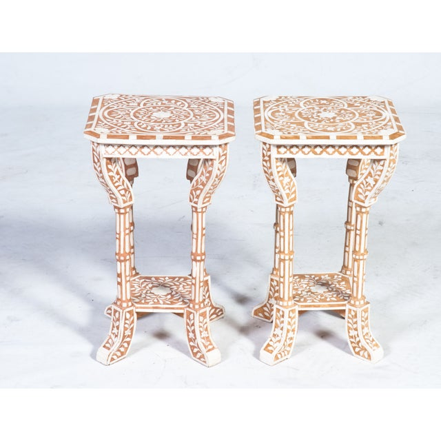Moroccan Dream! This chic pair of Moroccan inspired side tables are just what your Medina is waiting for. Rock your...