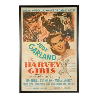 "1946s Movie Poster of ""The Harvey Girls"" For Sale"