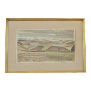 Landscape by Svend Engelund, '73 For Sale