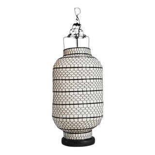 Cylinder Heibe Wire Lantern For Sale