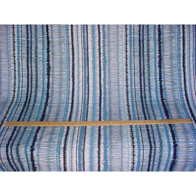 Tribal Lee Jofa Gp & J Baker Toledo Embroidered Ikat Upholstery Fabric- 2 7/8 Yards For Sale - Image 3 of 5