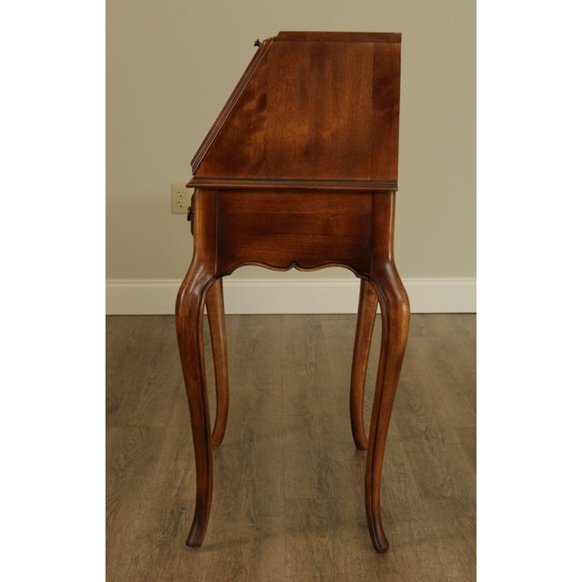 Ethan Allen Country French Slant Front Writing Desk For Sale In Philadelphia - Image 6 of 13
