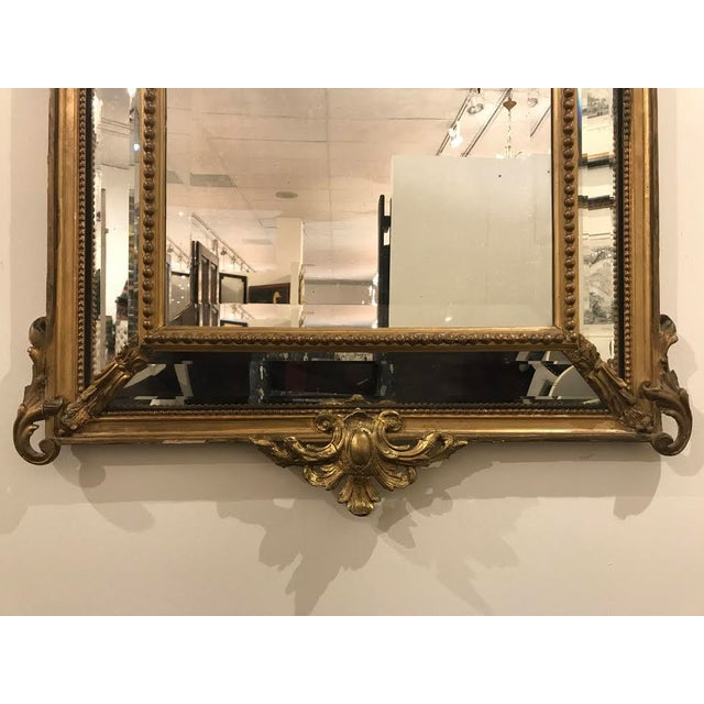 Antique Régence Style Pareclose Mirror - Image 6 of 8