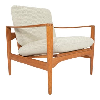 Illum Wikkelsø Ek Lounge Chair in Oak