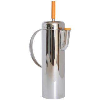 Machine Age Art Deco Empire Cocktail Shaker, William Archibald Welden for Revere For Sale