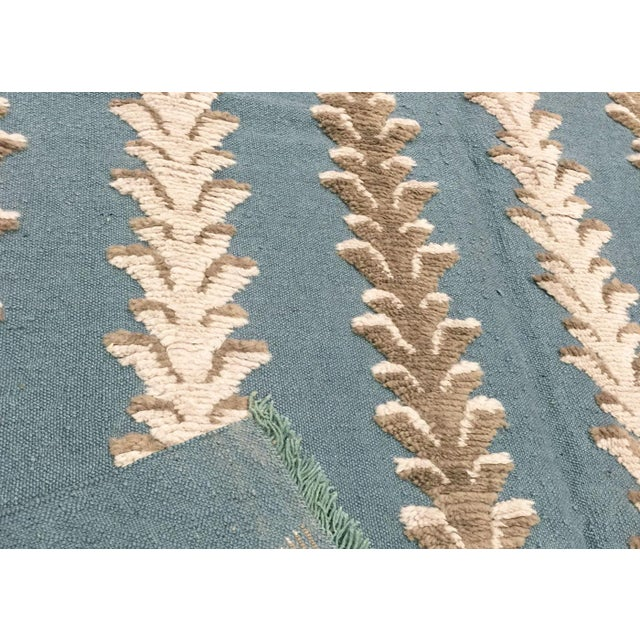 """Contemporary Turkish Flatweave Rug - 5'6"""" X 7'9"""" For Sale - Image 3 of 3"""
