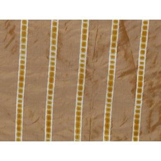 Lee Jofa for Kravet Soliel Dupioni Silk & Velvet Fabric 2 Yards For Sale