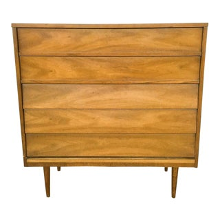 1960s Mid-Century Modern Wooden Chest
