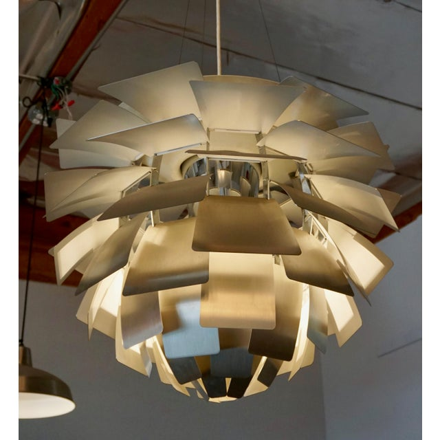 "Lights ""Artichoke "" Pendant Lamp by Poul Henningsen For Sale - Image 7 of 7"